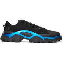 Фото Raf Simons Black and Blue adidas Originals Edition New Runner Sneakers