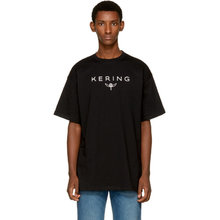 Фото Balenciaga Black Kering T-Shirt
