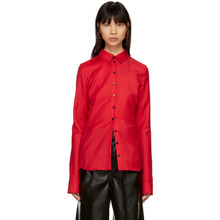Kwaidan Editions Red Slim Button Shirt
