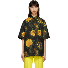 Kwaidan Editions Multicolor Floral Print Oversized Shirt