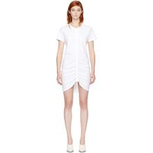 T by Alexander Wang White High Twist Dress