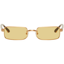 Dries Van Noten Gold Linda Farrow Edition 139 C3 Sunglasses