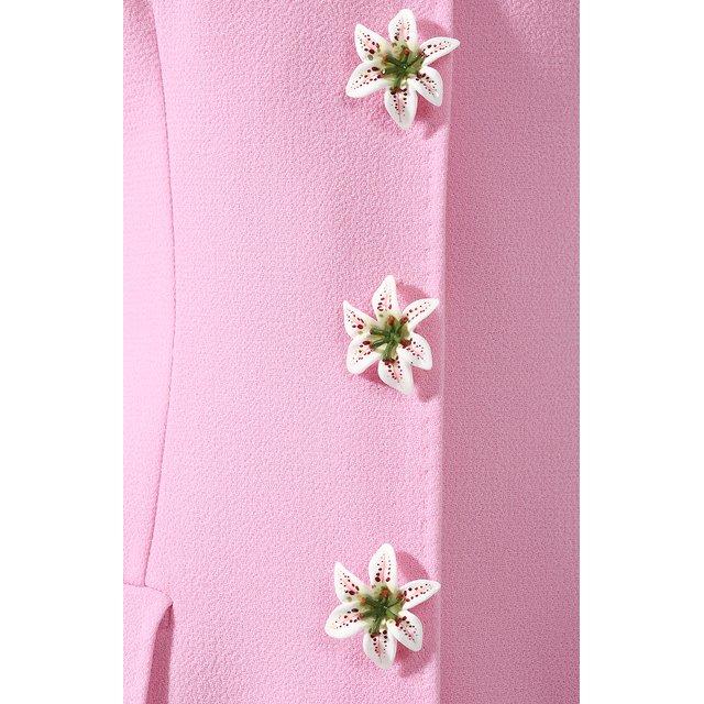 Dolce & Gabbana | Розовый Шерстяное пальто Dolce & Gabbana | Clouty