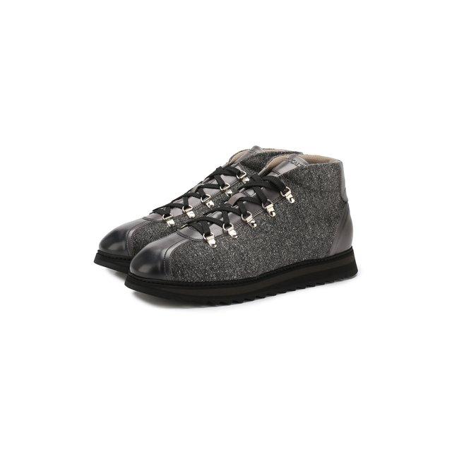 Doucal'S   Серый Текстильные ботинки Doucal's   Clouty