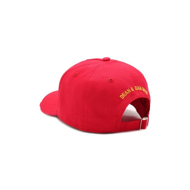 DSQUARED2 | Красный Хлопковая бейсболка Dsquared2 | Clouty