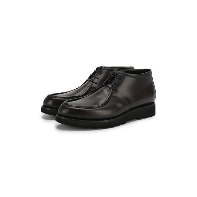W.Gibbs | Серый Кожаные ботинки W.Gibbs | Clouty