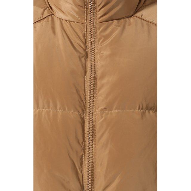 Ganni | Бежевый Пуховая куртка Ganni | Clouty