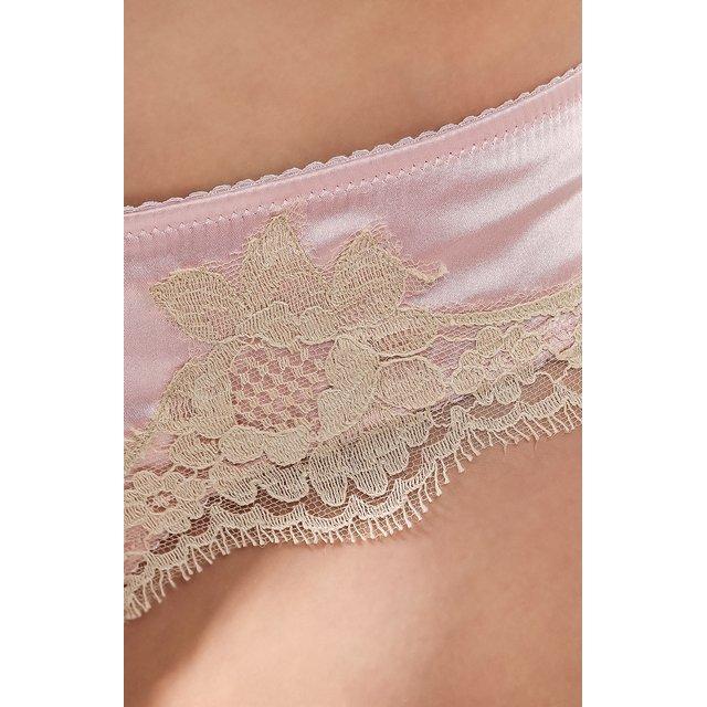 Dolce & Gabbana | Розовый Шелковые трусы-слипы Dolce & Gabbana | Clouty