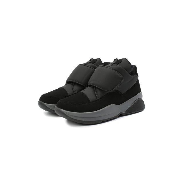 Jog Dog | Чёрный Текстильные ботинки Jog Dog | Clouty