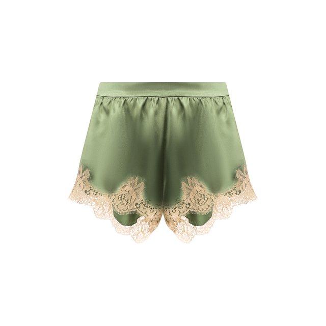 Dolce & Gabbana | Зелёный Шорты из смеси шелка и хлопка Dolce & Gabbana | Clouty