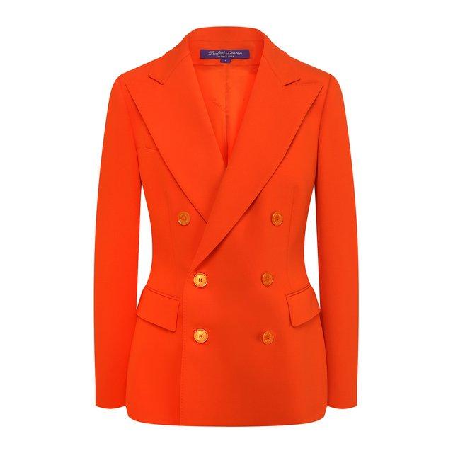 Ralph Lauren | Оранжевый Шерстяной жакет Ralph Lauren | Clouty