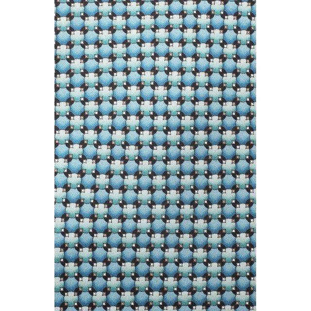 LANVIN | Зелёный Шелковый галстук Lanvin | Clouty