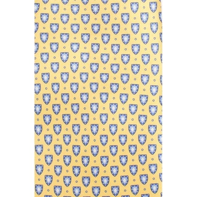Corneliani | Жёлтый Шелковый галстук Corneliani | Clouty