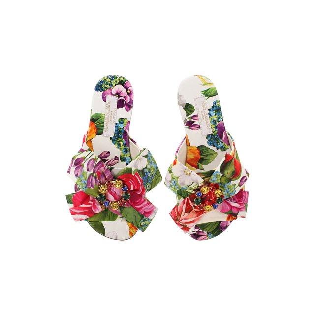 Dolce & Gabbana | Разноцветный Шлепанцы Dolce & Gabbana | Clouty