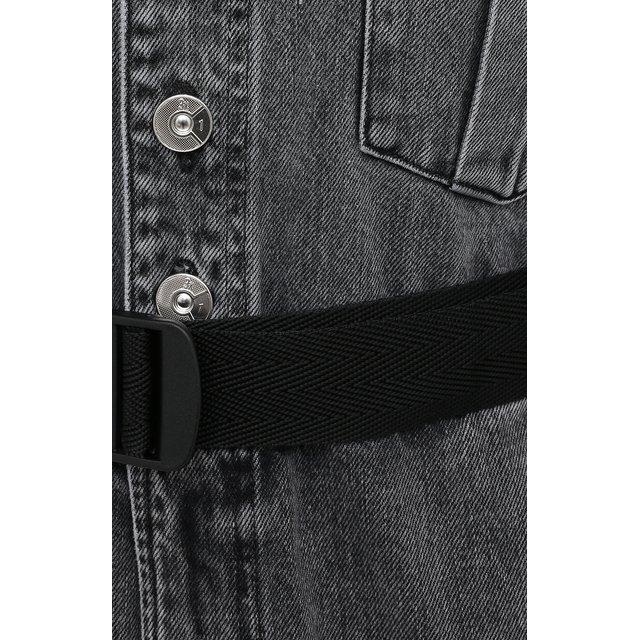 3x1 | Серый Джинсовый комбинезон 3x1 | Clouty