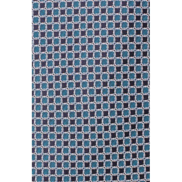 LANVIN   Зелёный Шелковый галстук Lanvin   Clouty