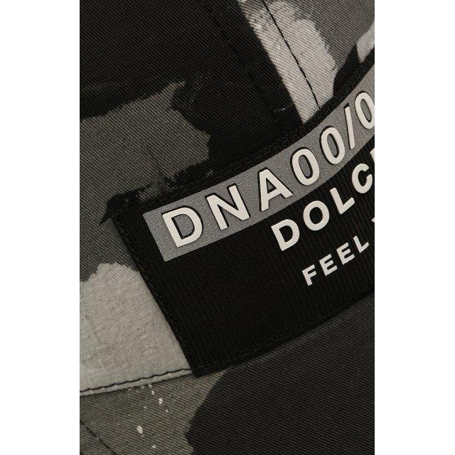 Dolce & Gabbana | Чёрный Хлопковая бейсболка Dolce & Gabbana | Clouty