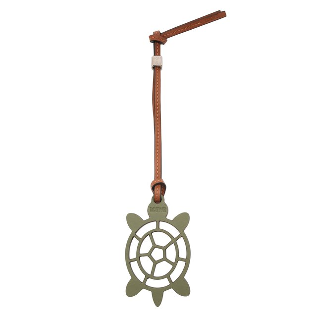 Loewe | Зелёный Брелок Turtle Loewe x Paula's Ibiza | Clouty