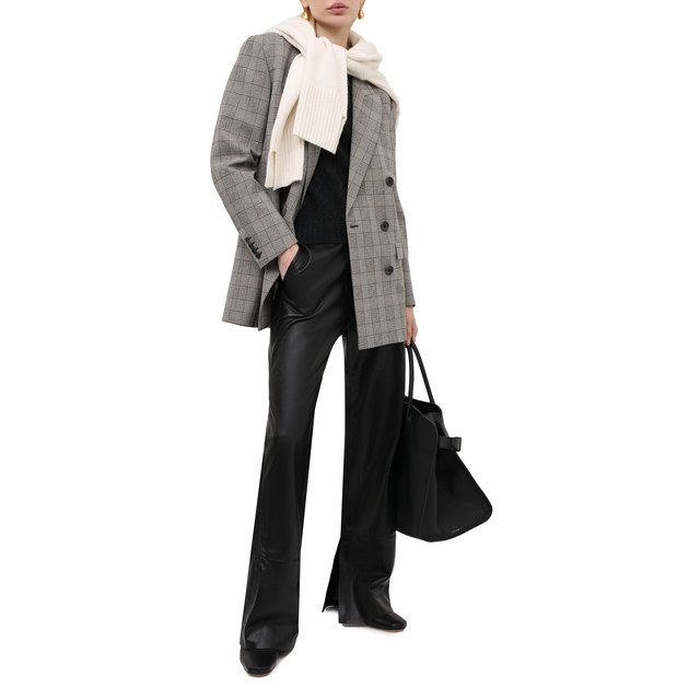 Ralph Lauren   Серый Кашемировый пуловер Ralph Lauren   Clouty
