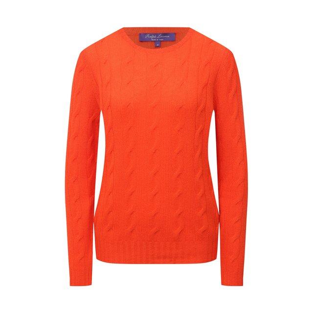 Ralph Lauren | Оранжевый Кашемировый пуловер Ralph Lauren | Clouty