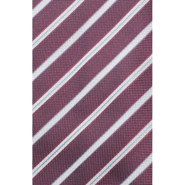 Brioni | Красный Шелковый галстук в полоску Brioni | Clouty