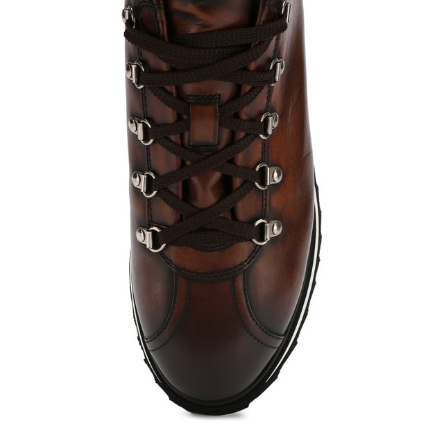 Doucal'S   Коричневый Кожаные ботинки Doucal's   Clouty