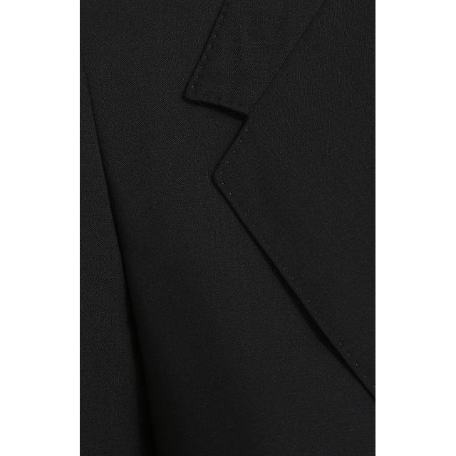 Dolce & Gabbana   Чёрный Приталенный шерстяной жакет на двух пуговицах Dolce & Gabbana   Clouty