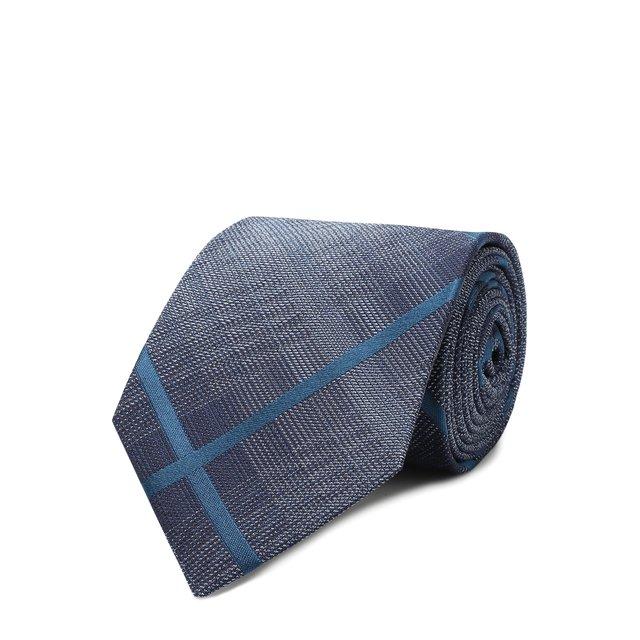 Tom Ford | Синий Шелковый галстук Tom Ford | Clouty
