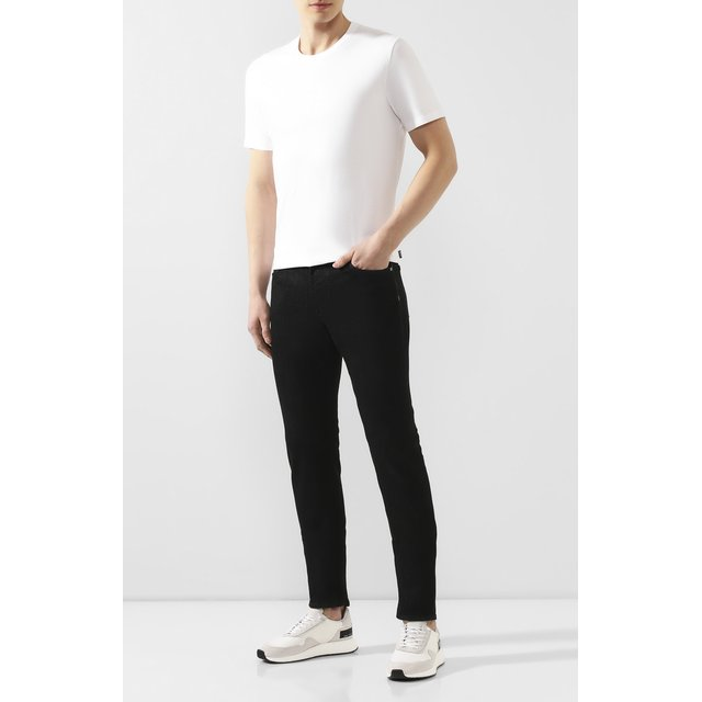 BOSS | Белый Хлопковая футболка BOSS | Clouty