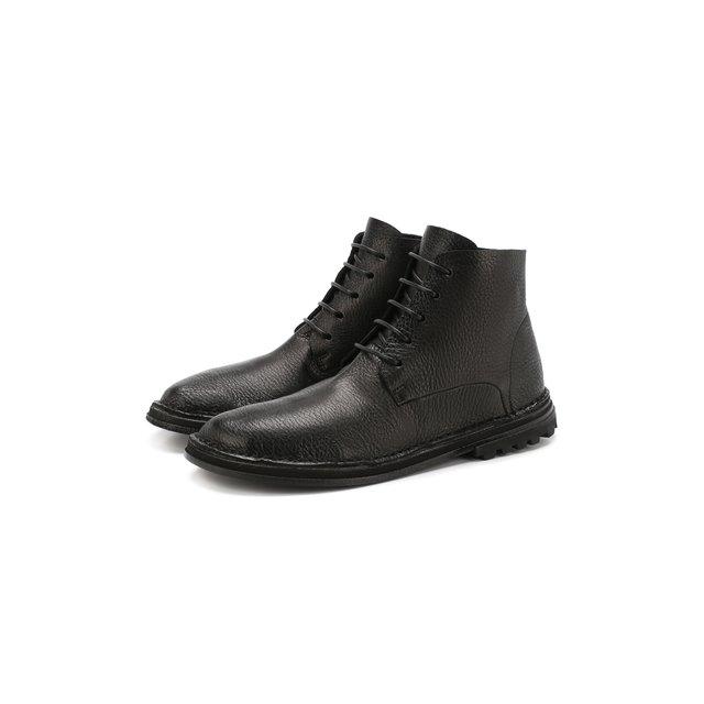 Marsèll | Чёрный Кожаные ботинки Marsell | Clouty