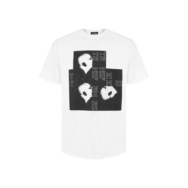 Raf Simons | Белый Хлопковая футболка Raf Simons | Clouty