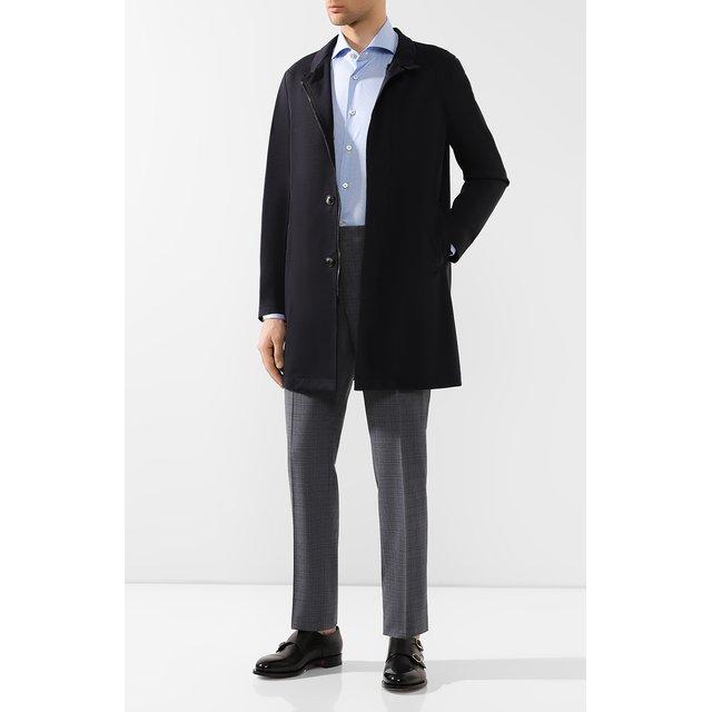 Giorgio Armani   Синий Шерстяное пальто Giorgio Armani   Clouty
