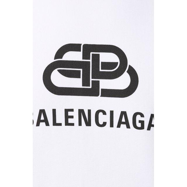 Balenciaga | Белый Хлопковое худи Balenciaga | Clouty