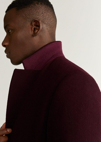 MANGO | Полушерстяное пальто Tailored - Arizona5 | Clouty