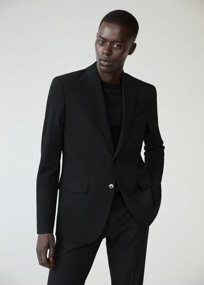 MANGO | Костюмный пиджак slim fit - Brasilia | Clouty