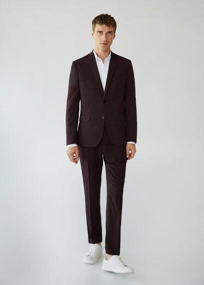 MANGO | Костюмный пиджак Superslim fit - Paulo | Clouty