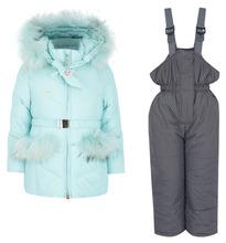 d643a66d Fun Time | Комплект куртка/полукомбинезон Fun Time, цвет: голубой | Clouty