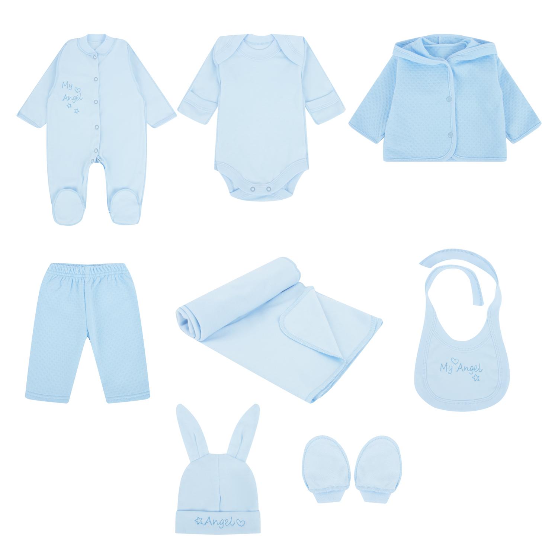 Карапузик | Комплект Карапузик Ангел, цвет: голубой | Clouty