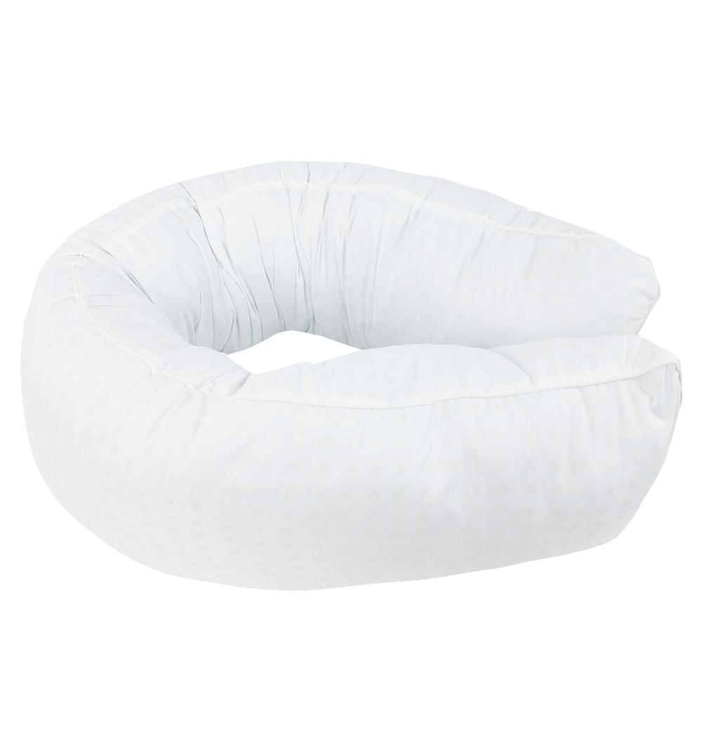 Smart-Textile | Подушка Smart-textile Валик-мах длина по внешнему краю 190 см, цвет: белый | Clouty