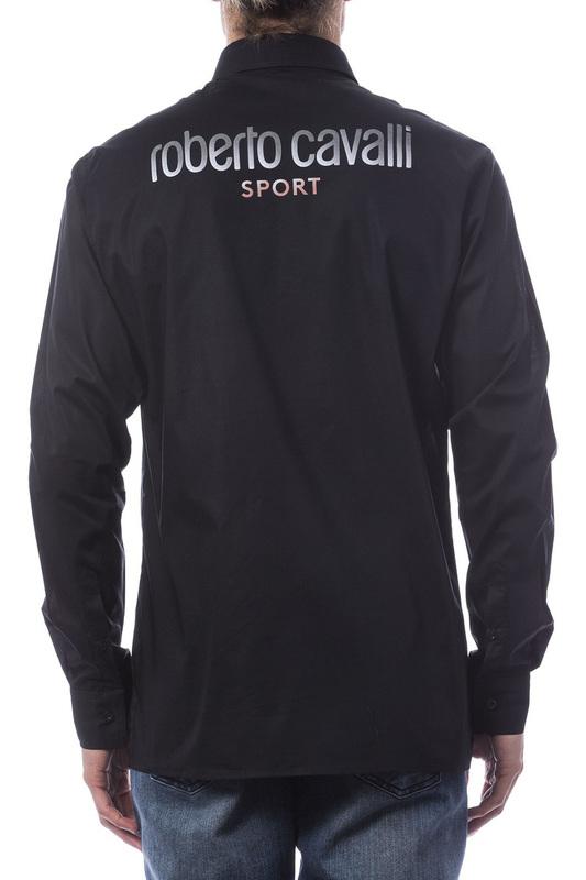 Roberto Cavalli Sport   Black Shirt Roberto Cavalli Sport   Clouty