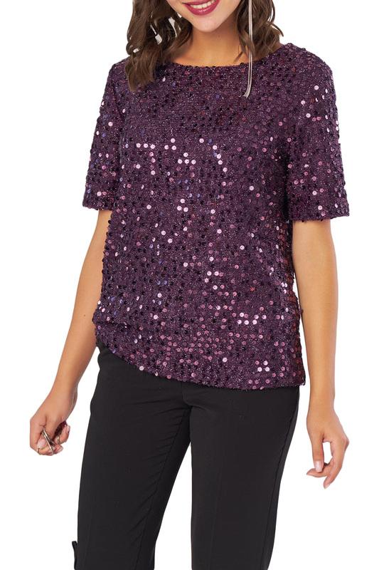 Fly | Фиолетовый Блуза Fly | Clouty