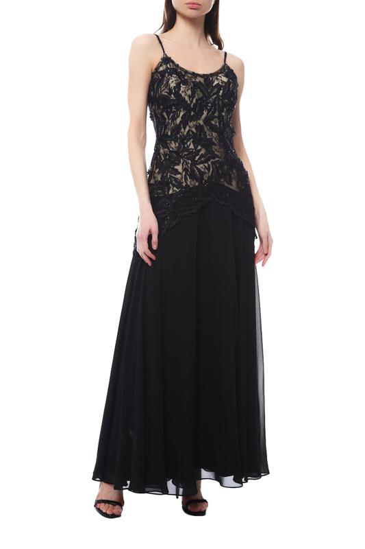 JS BOUTIQUE   Черный Платье JS BOUTIQUE   Clouty