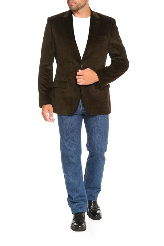 Mc Neal | Темно-оливковый, коричневый Пиджак Mcneal | Clouty