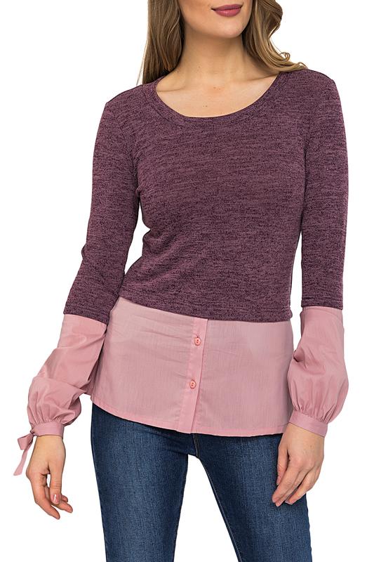 Gloss   Бордовый, розовый Джемпер Gloss   Clouty