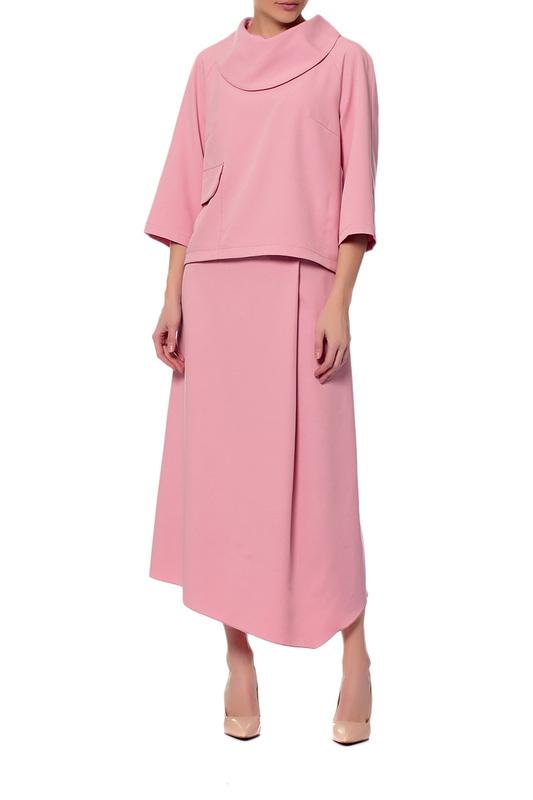 Adzhedo | Пыльная роза Костюм: блуза, юбка Adzhedo | Clouty