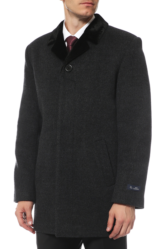Caravan Wool | Серый Пальто Caravan Wool | Clouty