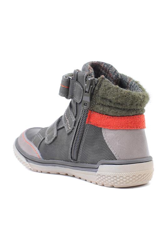 PlayToday | Серый, оранжевый, светло-серый Ботинки PlayToday | Clouty