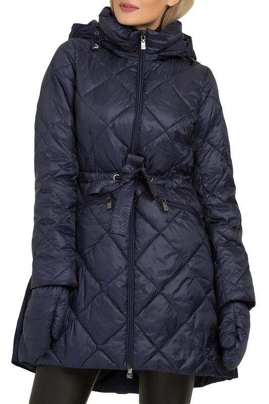 Odri Mio | Monaco blue Пальто с рукавицами ODRI Mio | Clouty