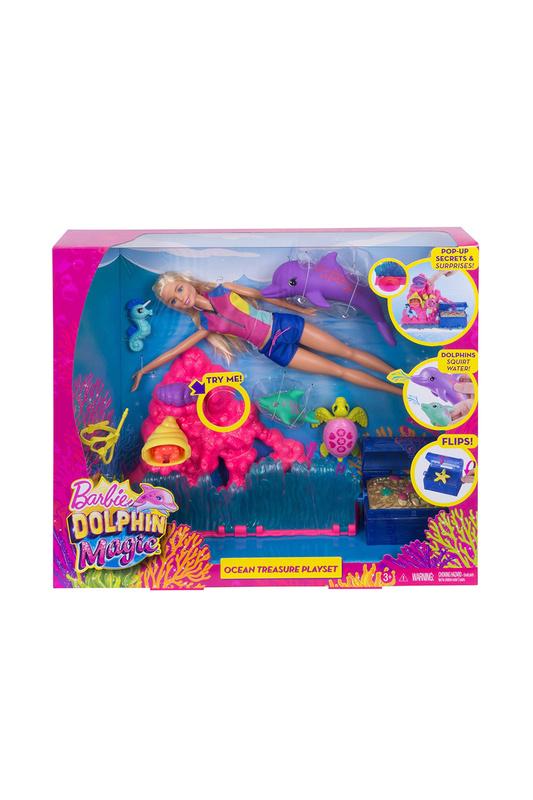 Barbie | Мультицвет, розовый Barbie - Морские приключения | Clouty