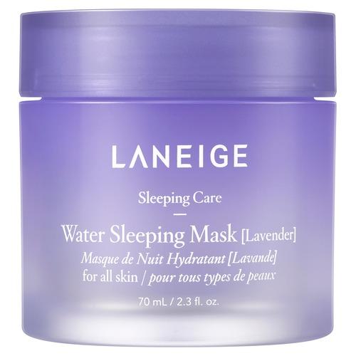 Laneige   Laneige WATER SLEEPING Ночная увлажняющая маска для лица с ароматом лаванды   Clouty